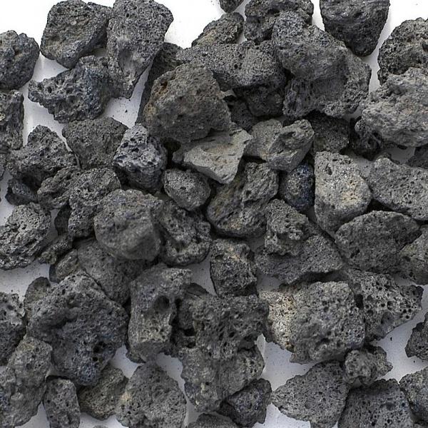 Lávové kameny - černé (1 kg)