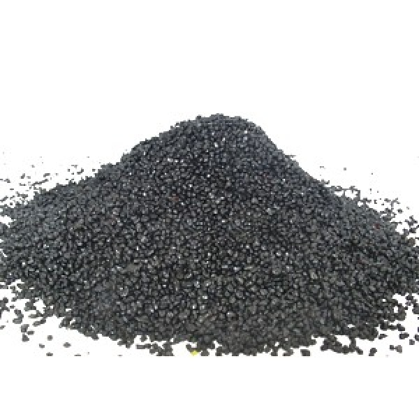 Písek akvarijní 0.6 - 1.2 mm - černý nano, 20kg