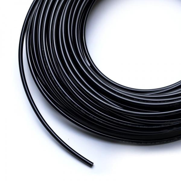 Vysokotlaká hadička 4/6 mm pro RO nebo na CO2 (metráž) černá
