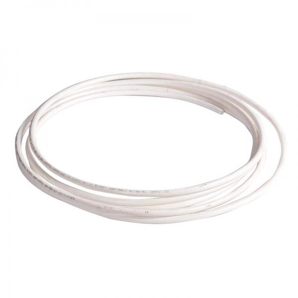 Vysokotlaká hadička 4/6 mm pro RO nebo na CO2 (metráž) bílá