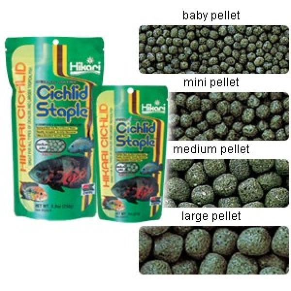 Hikari Cichlid Staple Medium pellet 57g
