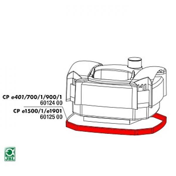 JBL Náhradní těsnění pod hlavu filtru CPe 400, 700, 900, 401, 701, 901