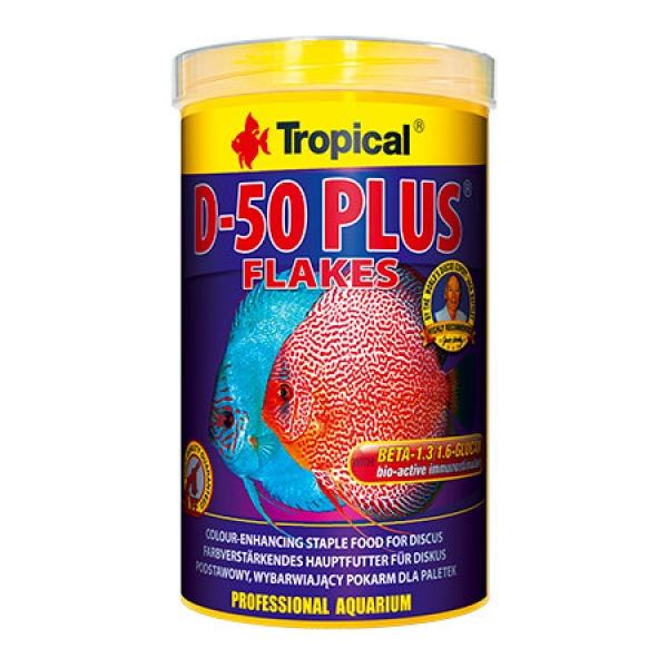 Tropical Discus Flakes D-50 PLUS 1000 ml