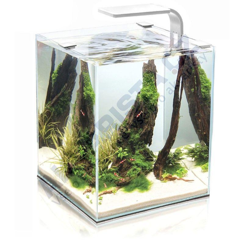 AquaEl ShrimpSet  LEDDY Smart akvárium 10l bílé