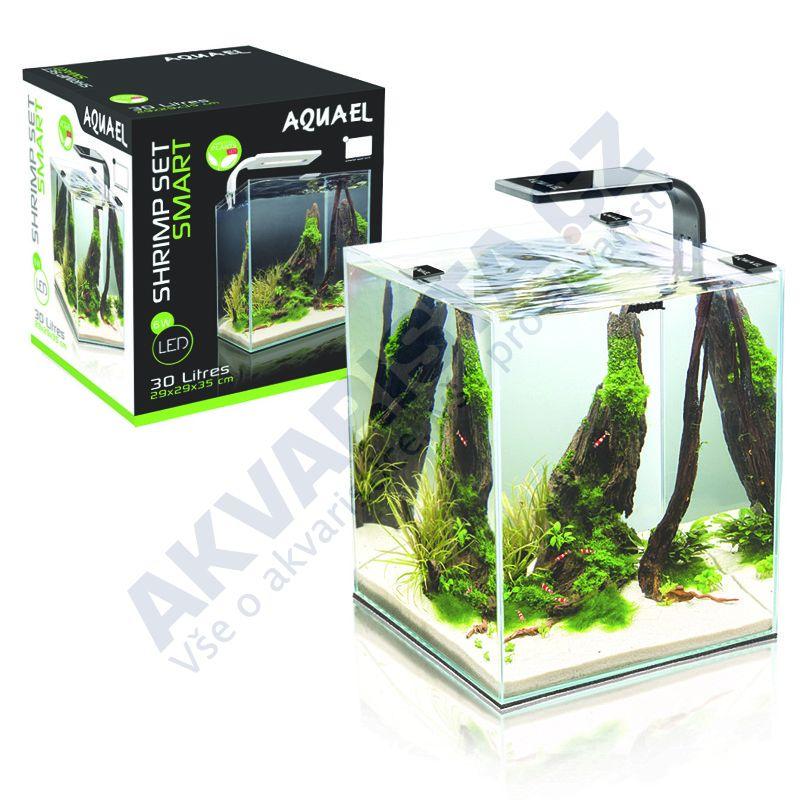 AquaEl ShrimpSet  LEDDY Smart akvárium 10l černé