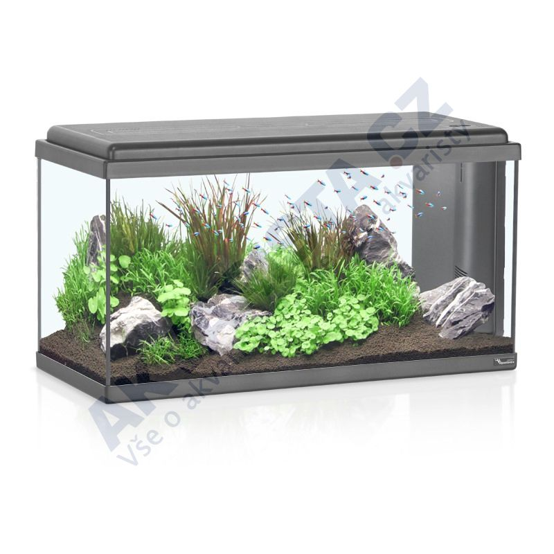 Aquatlantis Akvárium ADVANCE LED 80 černé