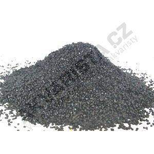 Písek akvarijní 1 - 2 mm - černý, 25kg
