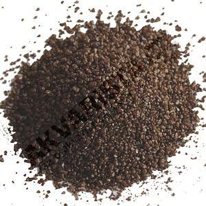 Písek akvarijní 0.6 - 1.2 mm - tmavě hnědý nano, 25kg