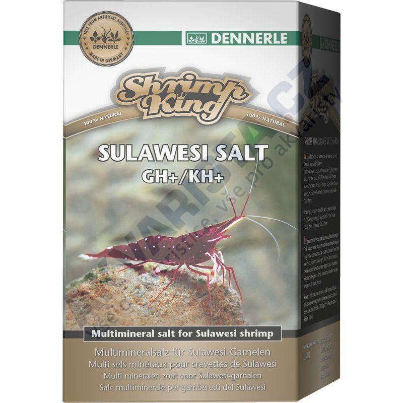 Dennerle Minerální sůl Shrimp King Sulawesi Salt GH/KH+ 200g