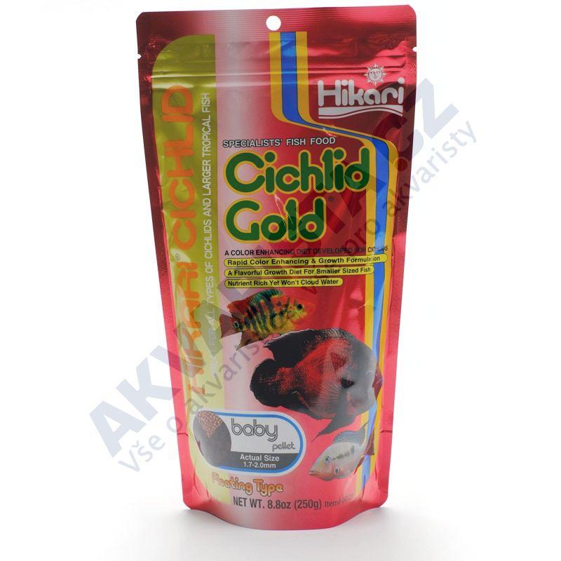 Hikari Cichlid Gold Baby 250g