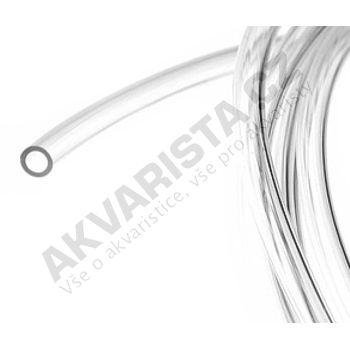 Vysokotlaká tvrdá hadička 4/6 mm pro vzduch nebo CO2 (metráž)