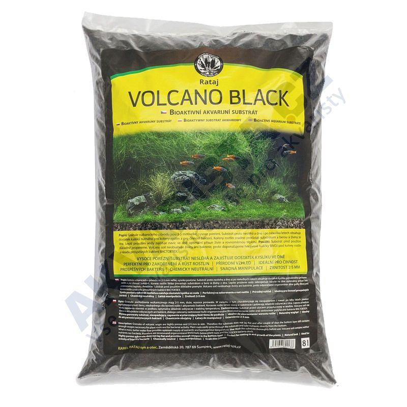 Rataj Volcano black akvarijní substrát 2l