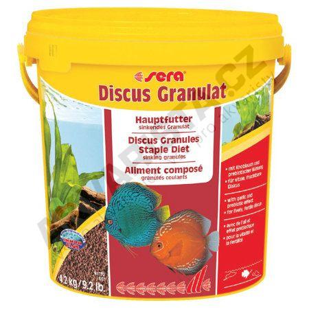 Sera Discus granulat Premium 10l