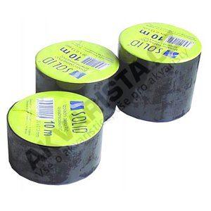 Solid Izolační páska PVC černá 25mm, délka 10m