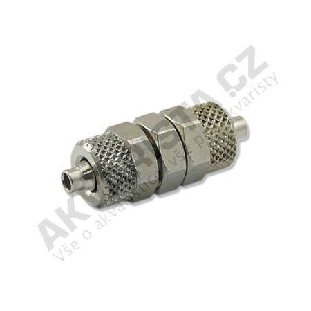 Camozzi Kovová spojka pro tlakovou hadičku 4/6mm