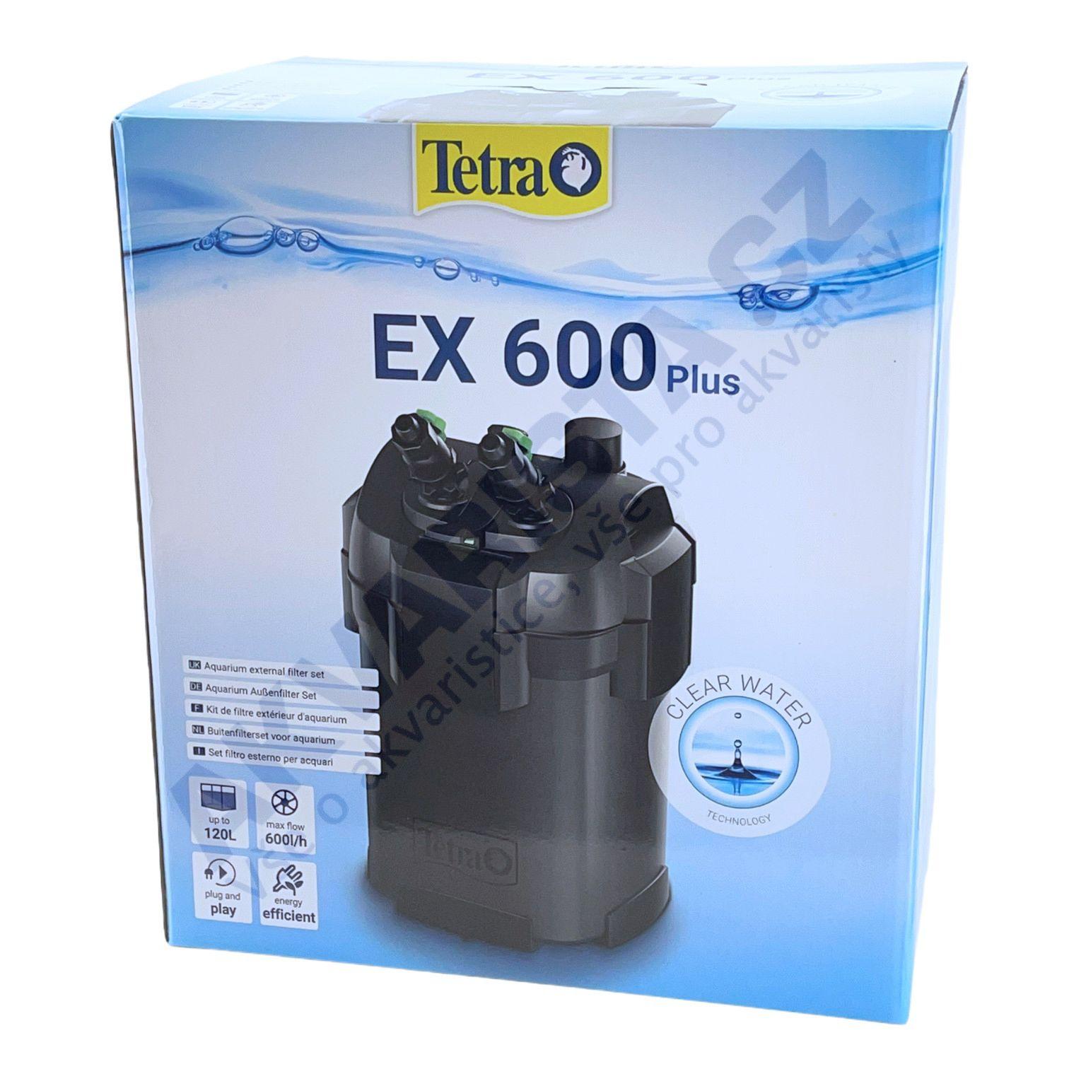 TetraTec EX 600 plus vnější filtr