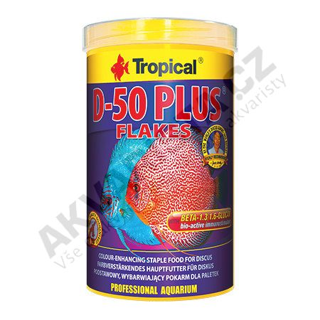 Tropical Discus Flakes D-50 PLUS 250 ml