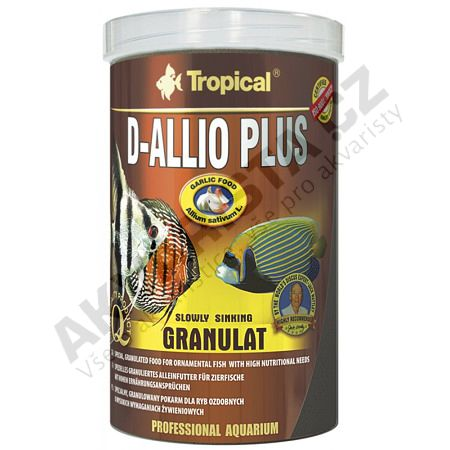 Tropical D-Allio Plus granulat 1000 ml