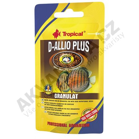 Tropical D-Allio Plus granulat 22g (sáček)