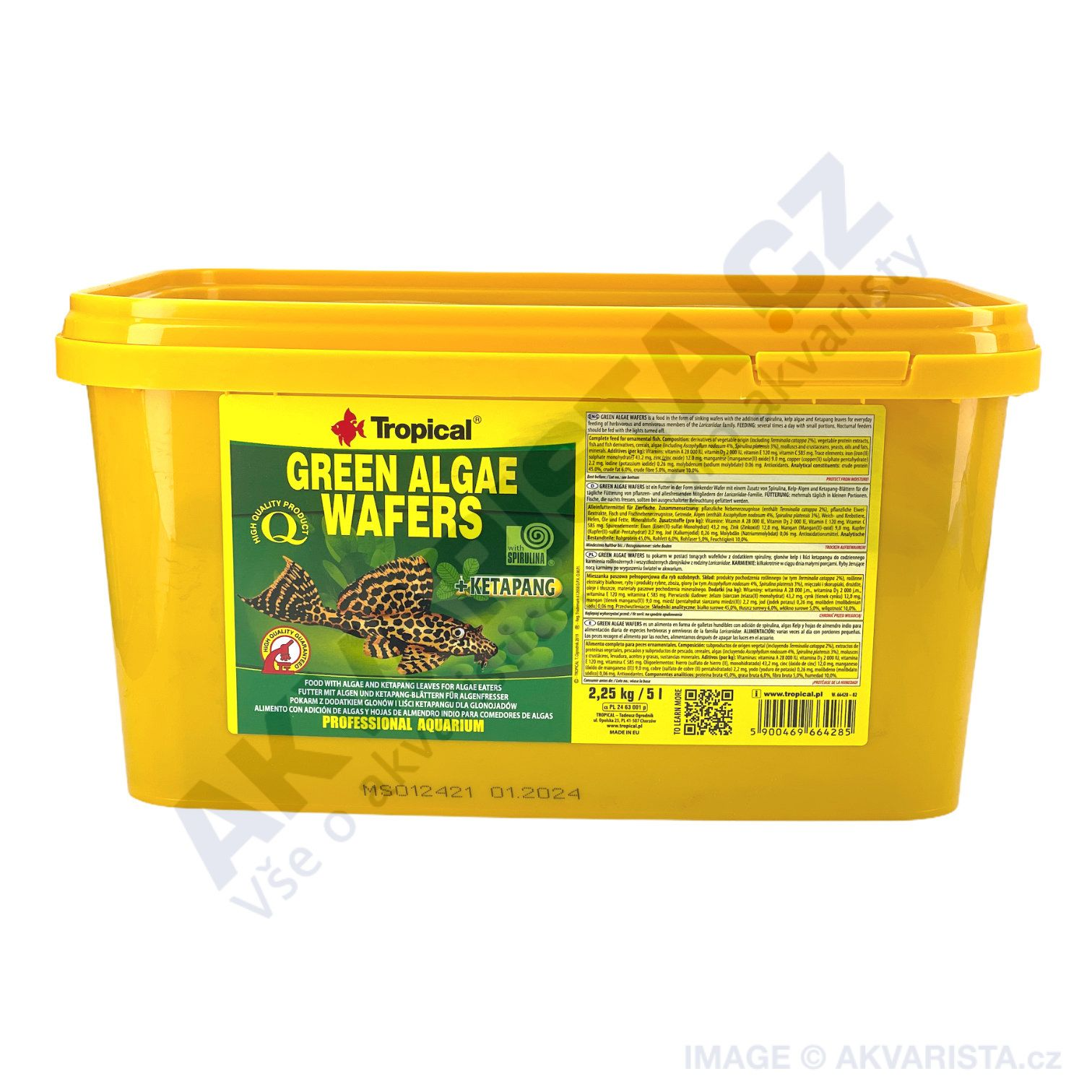 Tropical Green Algae Wafers 5000ml