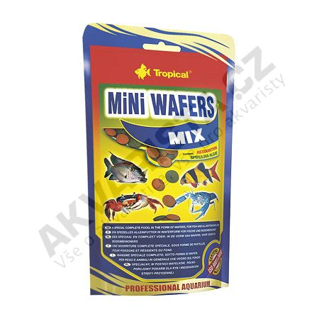 Tropical MiNi Wafers MIX 90 g (sáček)