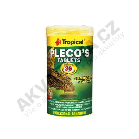 Tropical Plecos Tablets 250 ml