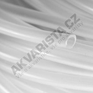 Vzduchovací hadička silikonová mléčná (4/6mm), metráž